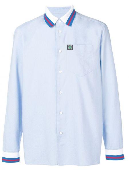 Koszula z długim rękawem klasyczna w paski Kenzo