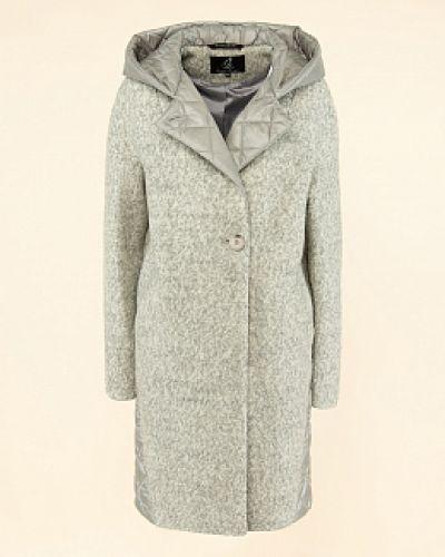 Шерстяное пальто - серое каляев