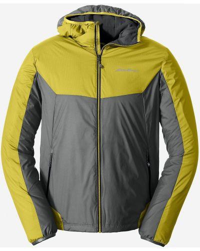 Куртка с капюшоном - желтая Eddie Bauer