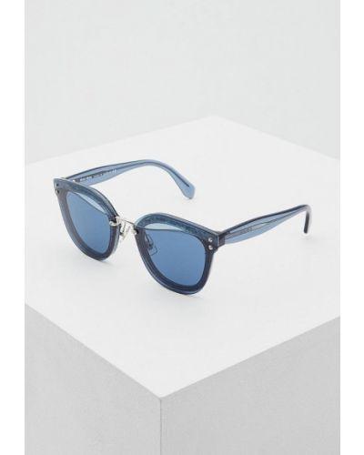 Синие солнцезащитные очки Miu Miu