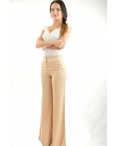 Летние брюки свободные из вискозы Patrizia Pepe