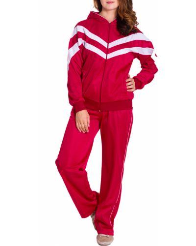 Спортивный костюм красный белый Lacywear