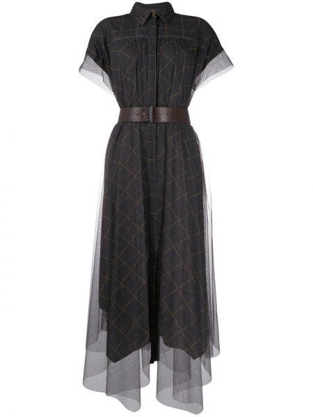 Платье классическое платье-майка Brunello Cucinelli