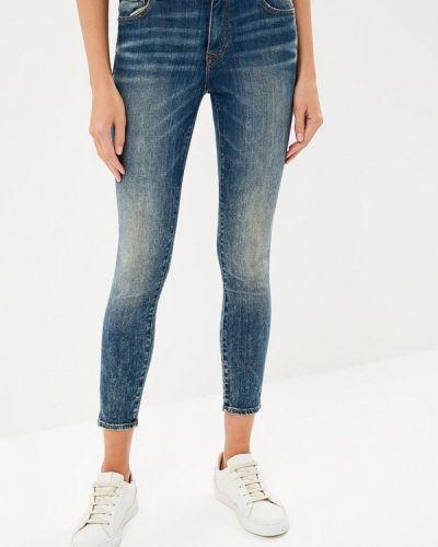 Синие джинсы-скинни True Religion