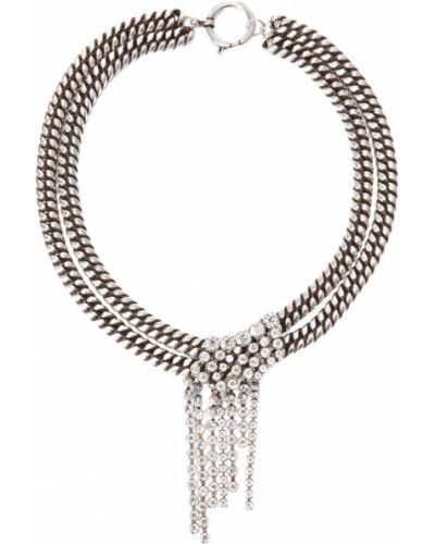 Чокер серебряный металлический Isabel Marant