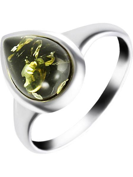 Кольцо из серебра с янтарем Darvin