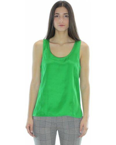 Zielony top Barbara Bui