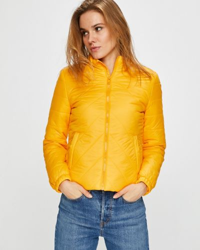 Стеганая куртка утепленная укороченная прямая Noisy May