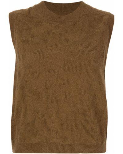 Топ без рукавов - коричневый Zambesi