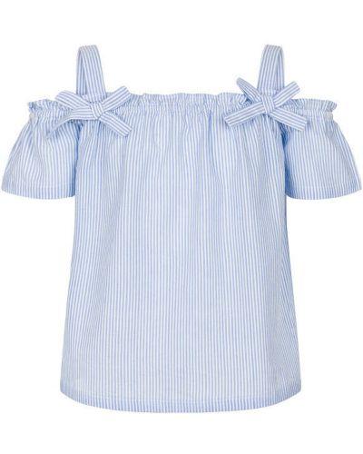 Свободная блузка свободного кроя на резинке Endo