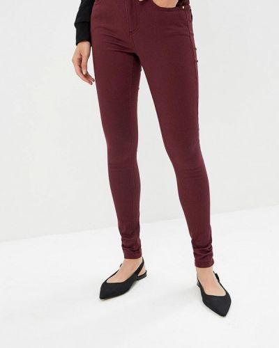 Фиолетовые джинсы-скинни B.young