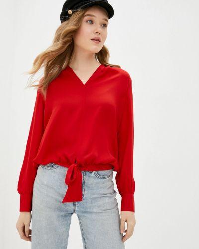 С рукавами красная блузка Scotch&soda