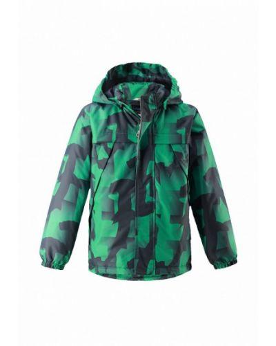 Зеленая куртка теплая Lassie By Reima