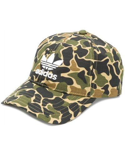 Хлопковая кепка с логотипом Adidas