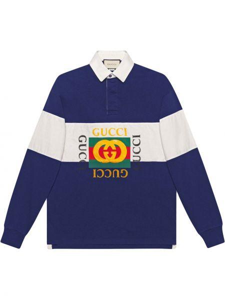 Koszulka polo długo włoski Gucci