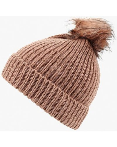 Розовая шапка осенняя S.oliver