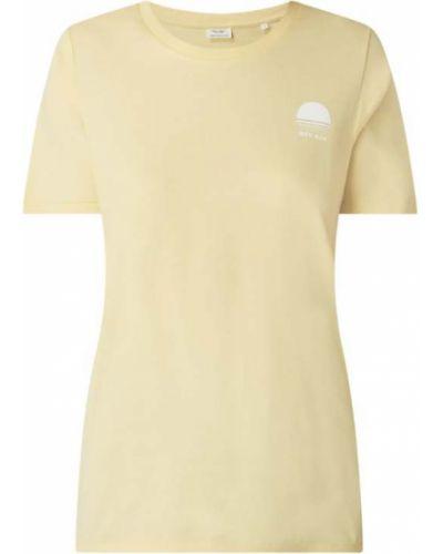 T-shirt z printem - niebieska Marc O'polo Denim