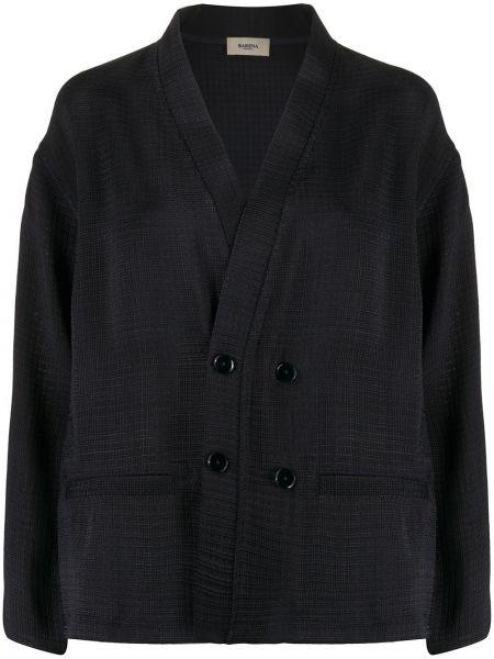 Синяя длинная куртка Barena