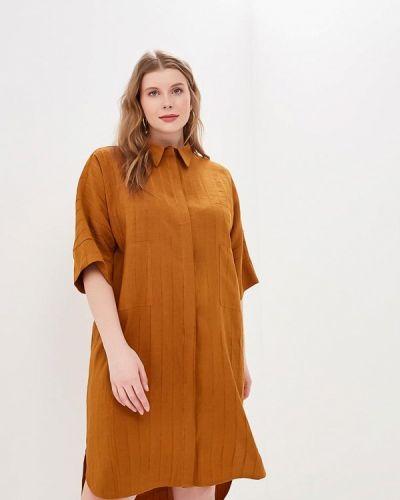 Платье - коричневое Tutto Bene Plus