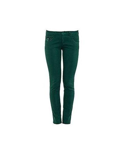 Джинсы-скинни зеленый синие Emporio Armani