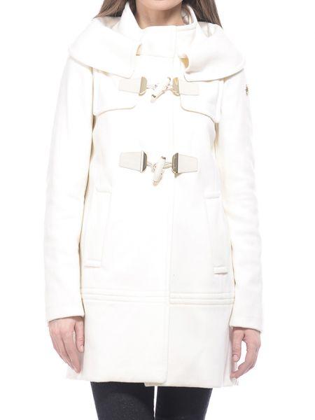 Шерстяное белое пальто Marina Yachting