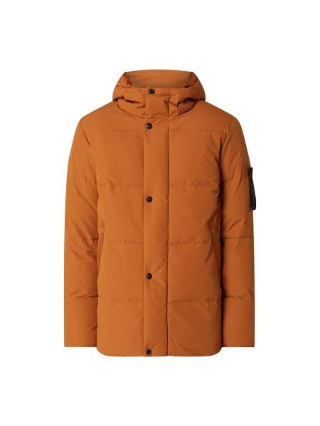 Pomarańczowa kurtka pikowana Elvine