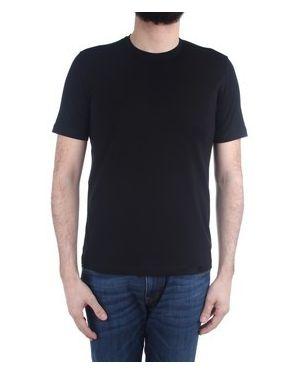 Czarny t-shirt Cruciani