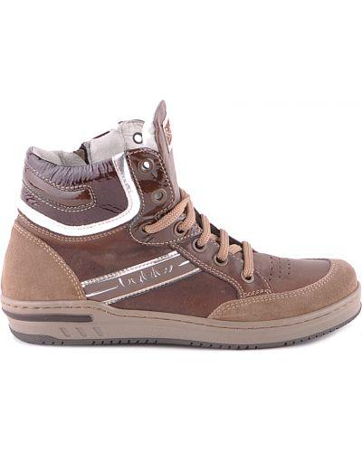Ботинки замшевые коричневый Byblos