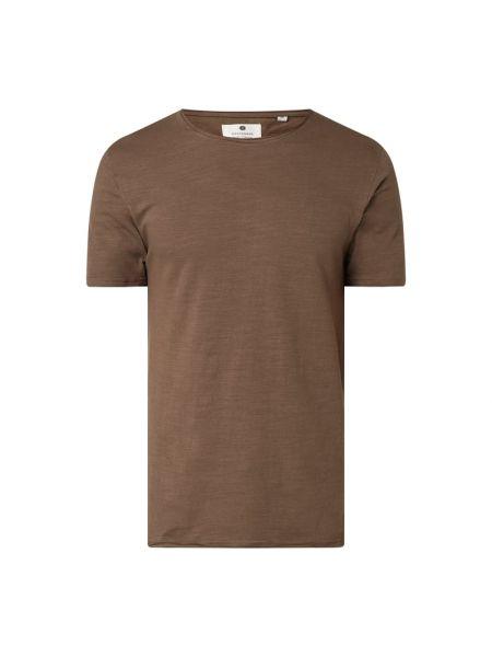 Czarny t-shirt bawełniany Anerkjendt
