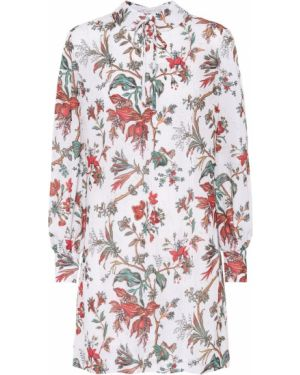 Платье мини с завышенной талией с цветочным принтом Mcq Alexander Mcqueen