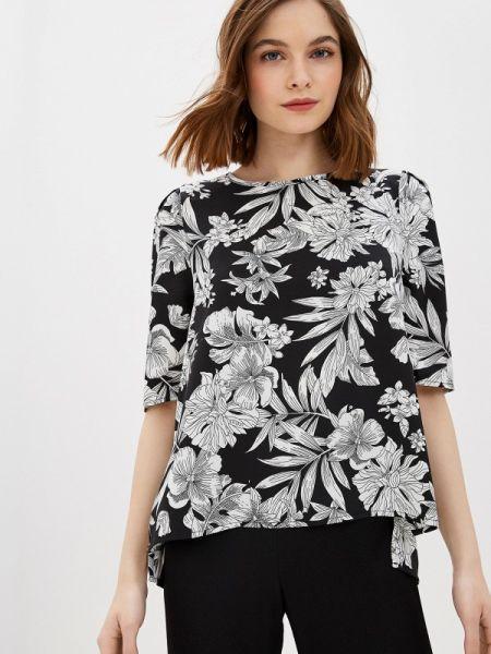 Блузка с длинным рукавом черная весенний Incity