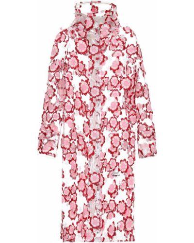 Дождевик розовый Moncler Genius