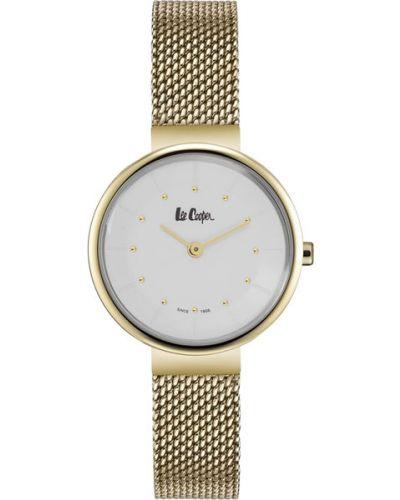 Кварцевые часы водонепроницаемые с круглым циферблатом Lee Cooper