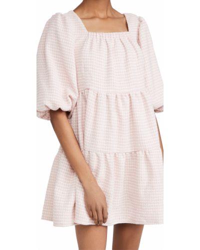 Платье твидовое квадратное с декольте Sister Jane