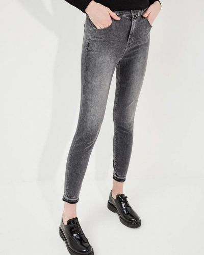Серые укороченные джинсы J Brand