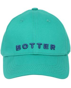 Zielony kapelusz z haftem Botter