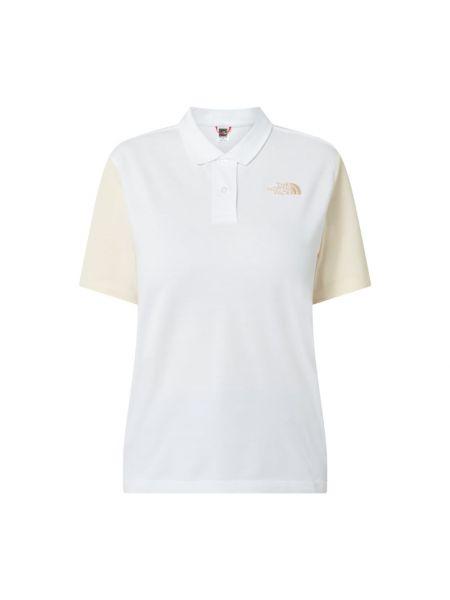 Biała koszulka bawełniana The North Face