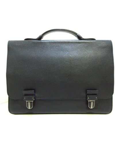 Teczka materiałowa - czarna Bottega Veneta Vintage