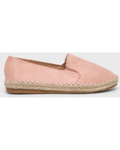 Эспадрильи розовый Answear