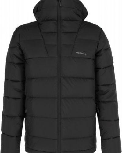 Утепленная серая пуховая короткая куртка Merrell
