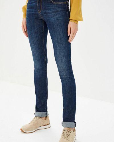 Синие прямые джинсы Met