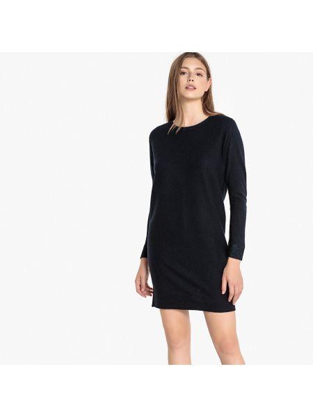 Шерстяное платье макси - синее Sud Express