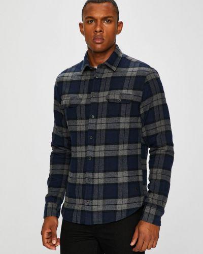 Рубашка с длинным рукавом в клетку с карманами Casual Friday