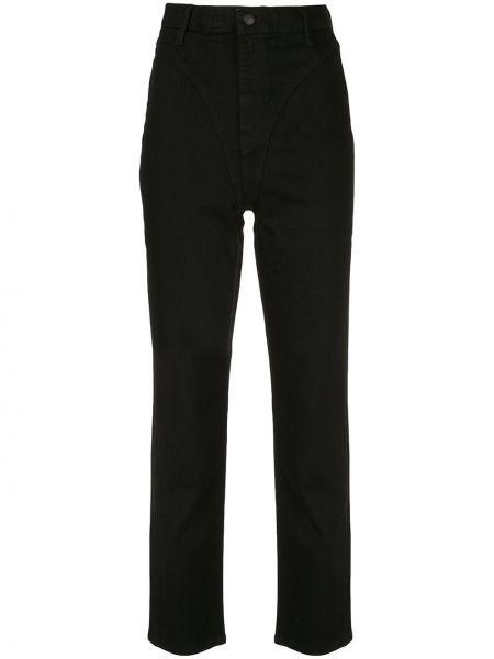 Bawełna bawełna czarny jeansy na wysokości z kieszeniami Alexander Wang