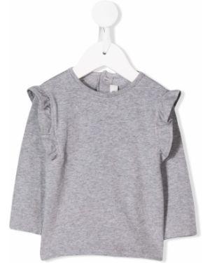 T-shirt z długimi rękawami bawełniany Aletta