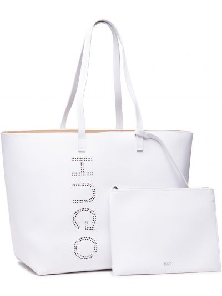 Torba na zakupy - biała Hugo