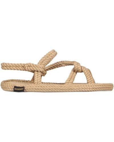 Beżowe sandały Bohonomad