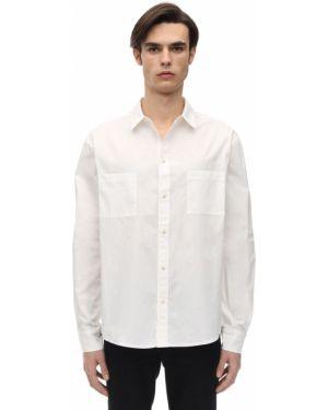 Klasyczna biała klasyczna koszula bawełniana Ih Nom Uh Nit