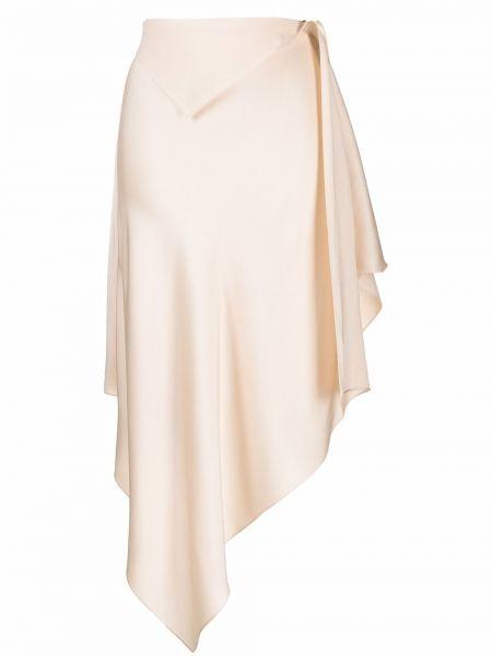 Spódnica asymetryczna - beżowa Givenchy