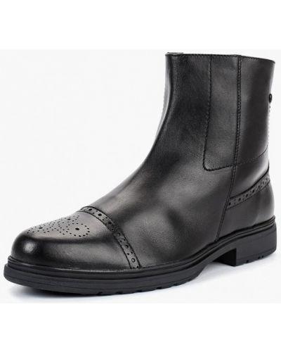 Ботинки осенние кожаные высокие Salamander